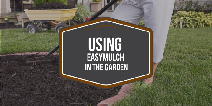 Using easyMulch in the garden